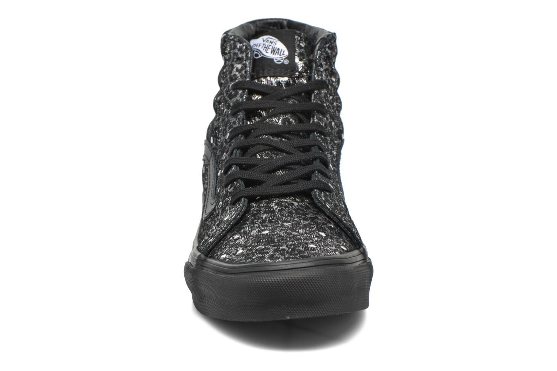 Sneaker Vans Sk8-Hi Slim W schwarz schuhe getragen