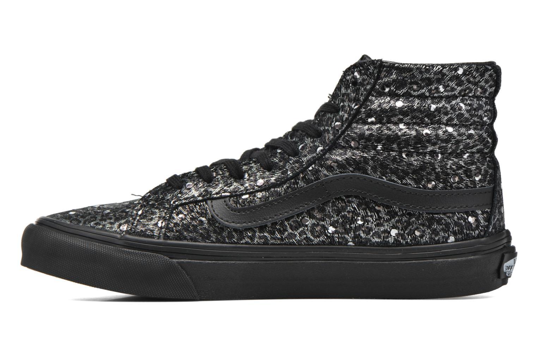 Sneaker Vans Sk8-Hi Slim W schwarz ansicht von vorne