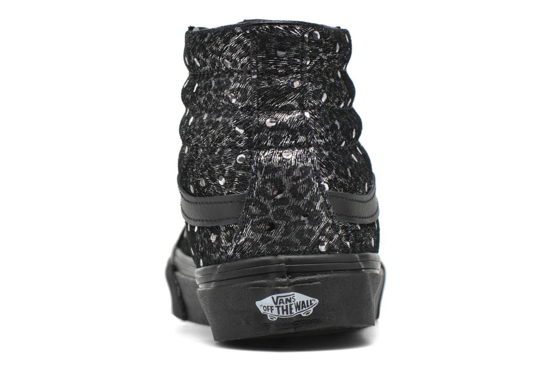 Sk8-Hi Slim W (Metallic Leopard) Black/Black