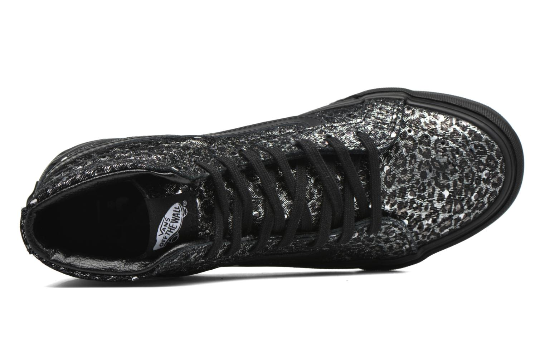 Sneakers Vans Sk8-Hi Slim W Zwart links