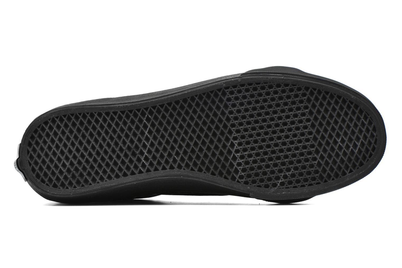 Sneaker Vans Sk8-Hi Slim W schwarz ansicht von oben