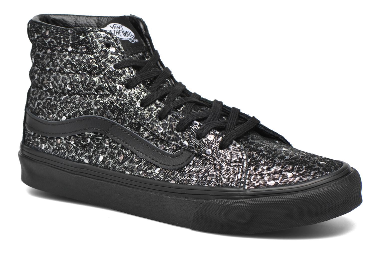 Sneaker Vans Sk8-Hi Slim W schwarz detaillierte ansicht/modell