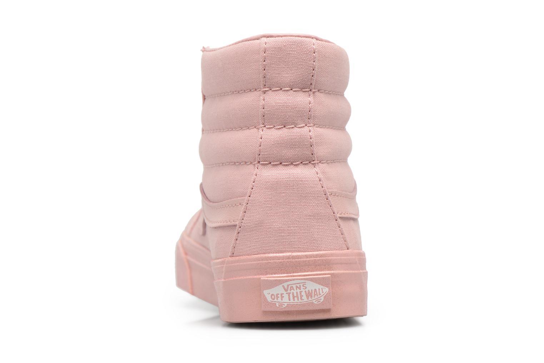 Sk8-Hi Slim W Metalli Glitter Silver Pink