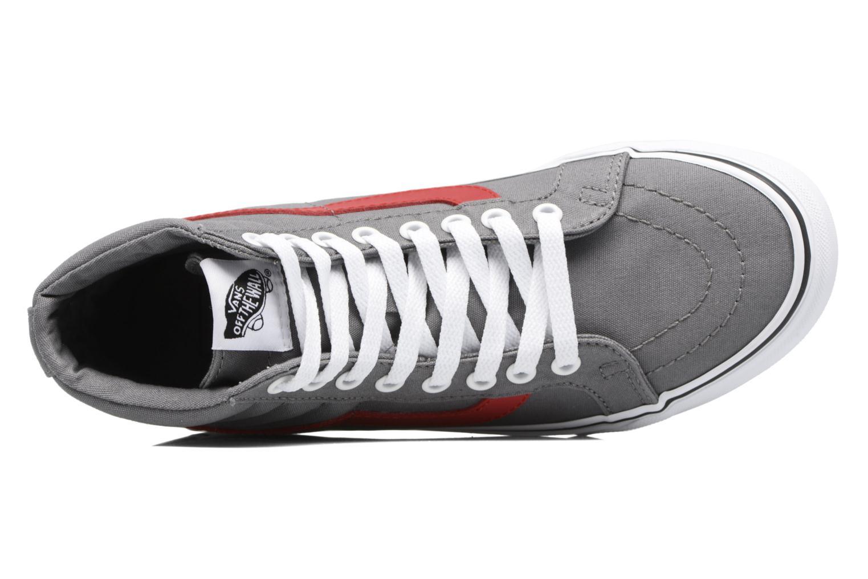 Sneaker Vans Sk8-Hi Reissue W grau ansicht von links