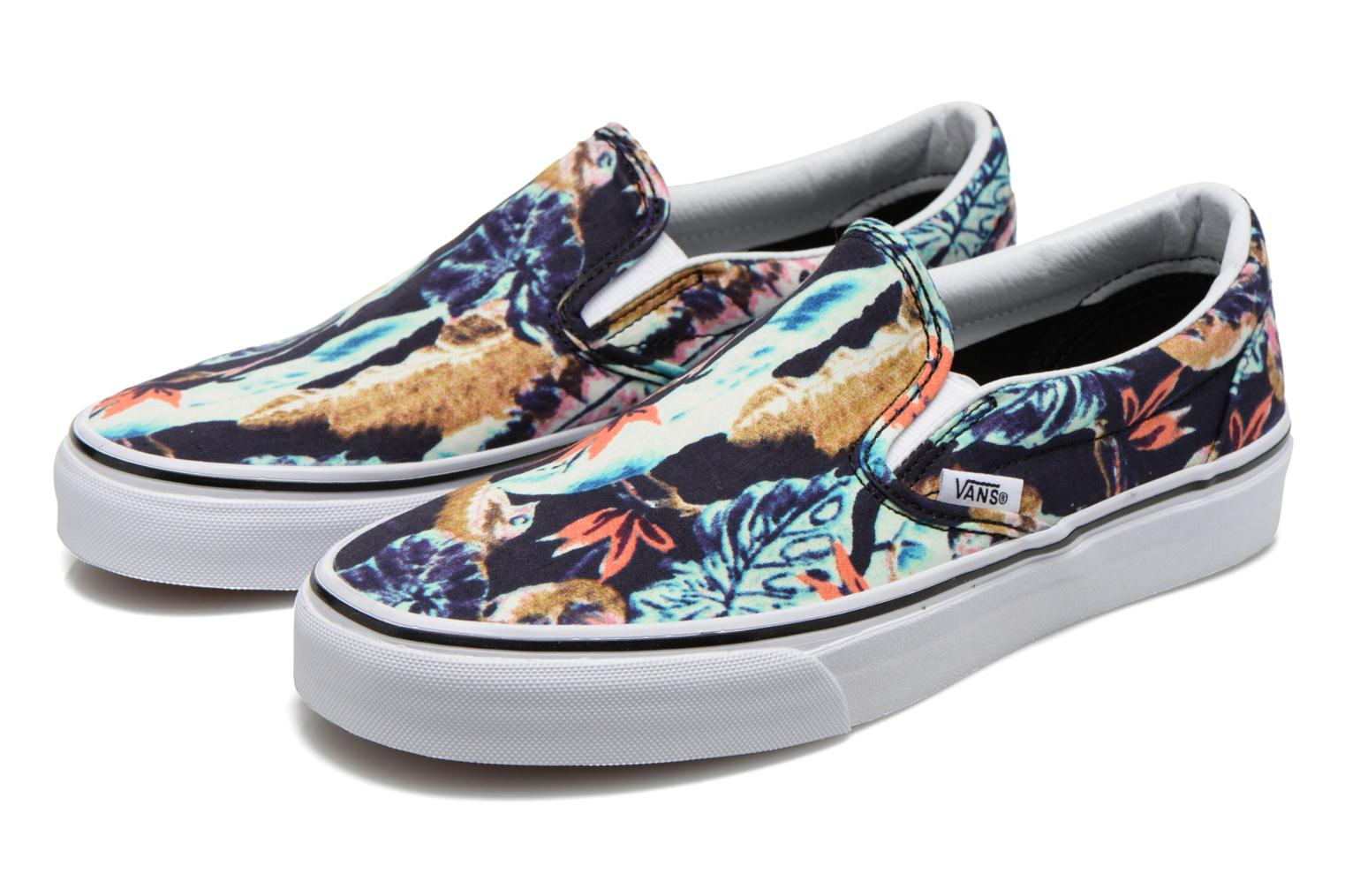 Baskets Vans Classic Slip-On W Multicolore vue 3/4