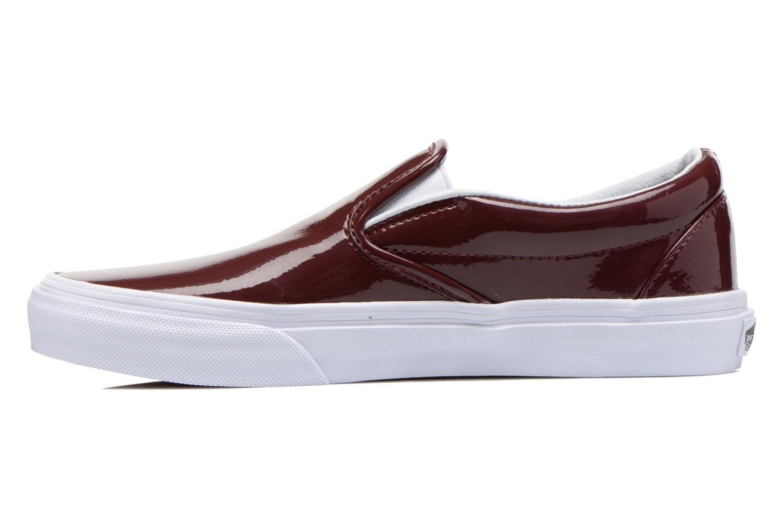 Sneakers Vans Classic Slip-On W Vinröd bild från framsidan