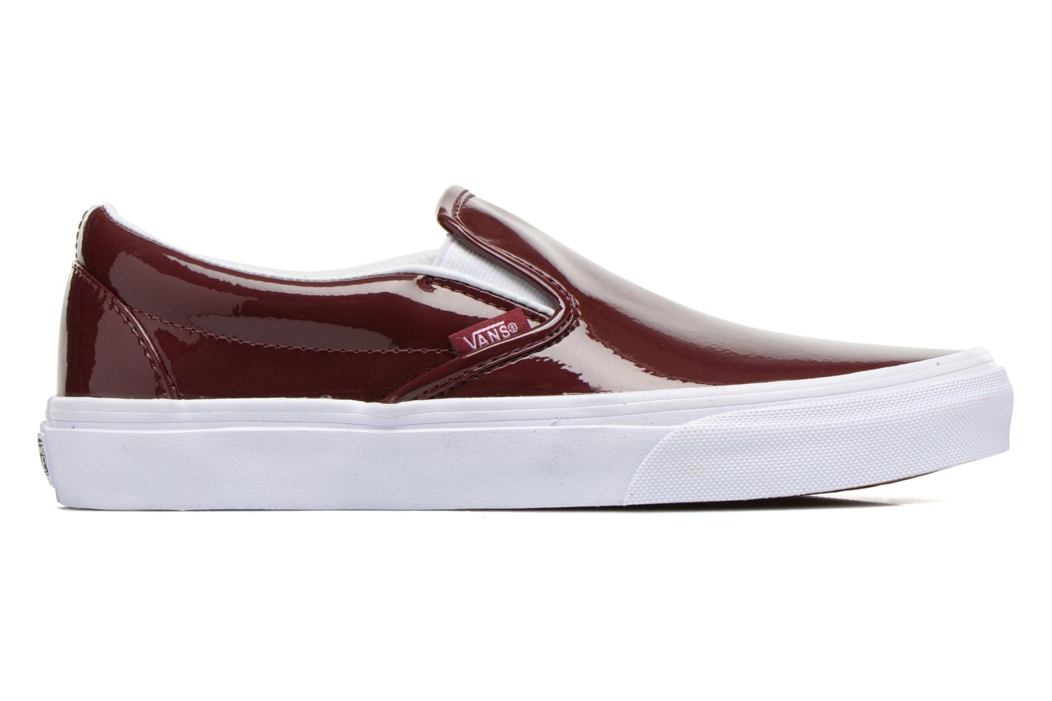 Trainers Vans Classic Slip-On W Burgundy back view