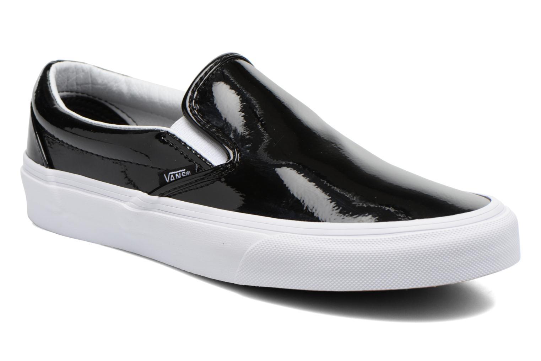 Deportivas Vans Classic Slip-On W Negro vista de detalle / par