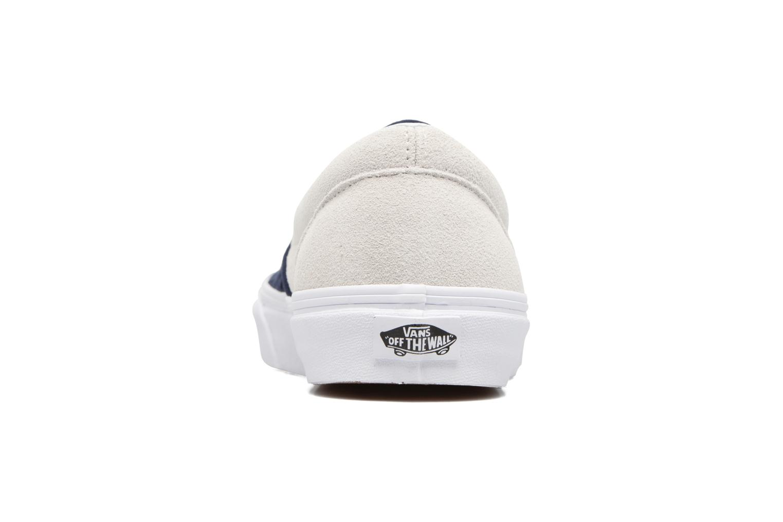 Sneaker Vans Classic Slip-On W blau ansicht von rechts