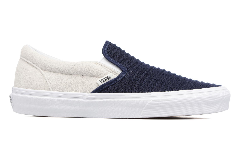Sneaker Vans Classic Slip-On W blau ansicht von hinten
