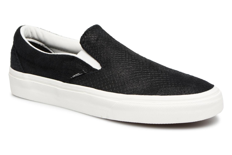 Grandes descuentos últimos zapatos Vans Classic Slip-On W (Negro) - Deportivas Descuento