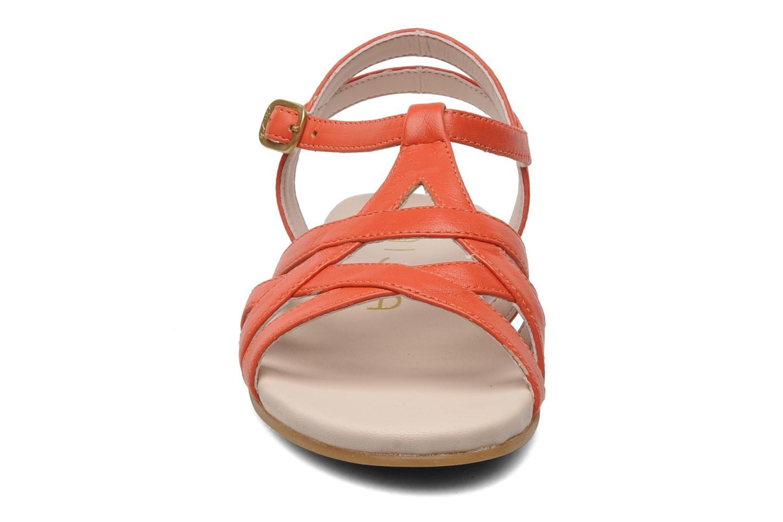Sandales et nu-pieds Unisa LUPI CP Rose vue portées chaussures