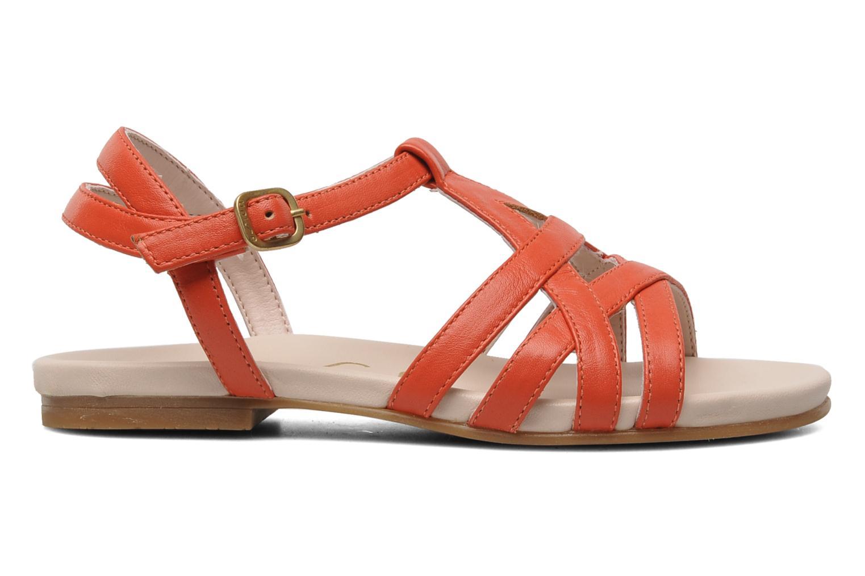Sandales et nu-pieds Unisa LUPI CP Rose vue derrière