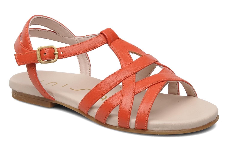 Sandales et nu-pieds Unisa LUPI CP Rose vue détail/paire