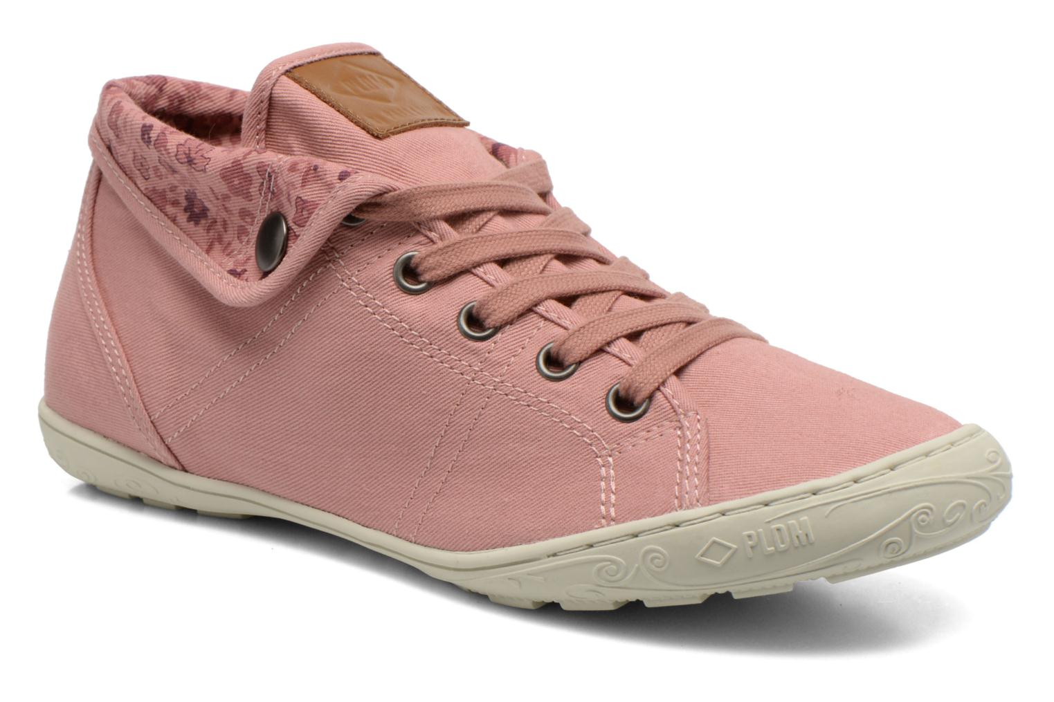 Baskets P-L-D-M By Palladium Gaetane Twl Rose vue détail/paire
