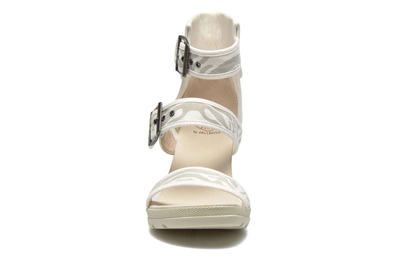 Sandales et nu-pieds P-L-D-M By Palladium Starlet Print Gris vue portées chaussures