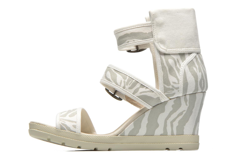 Sandales et nu-pieds P-L-D-M By Palladium Starlet Print Gris vue face