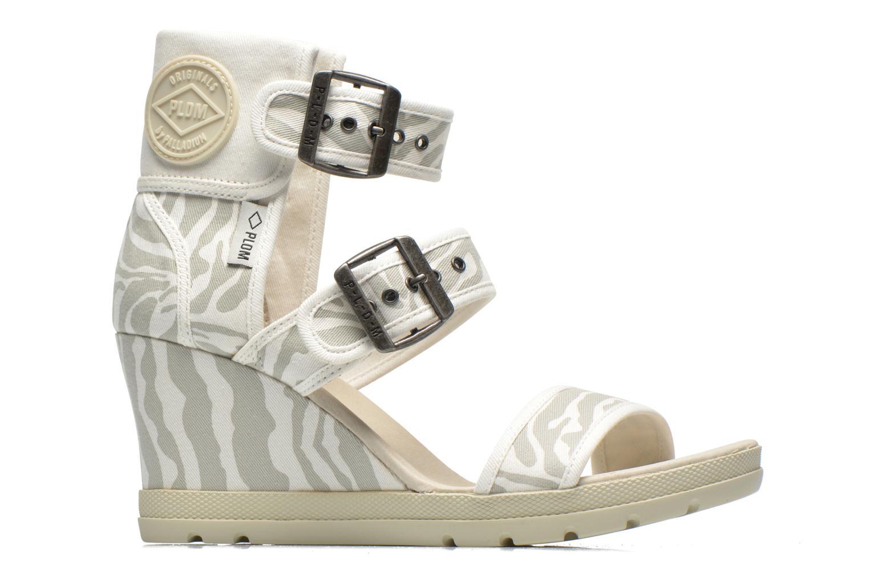 Sandales et nu-pieds P-L-D-M By Palladium Starlet Print Gris vue derrière