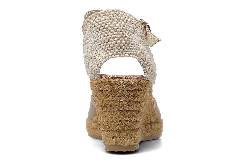 Sandales et nu-pieds Georgia Rose Ipona Beige vue droite