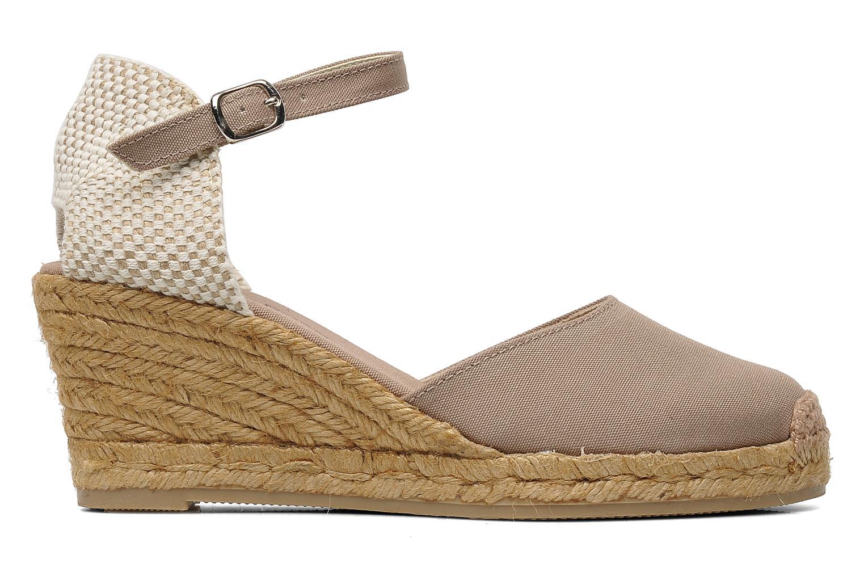 Sandales et nu-pieds Georgia Rose Ipona Beige vue derrière