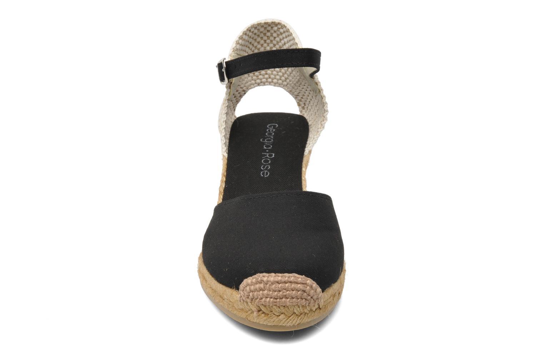 Sandalen Georgia Rose Ipona schwarz schuhe getragen
