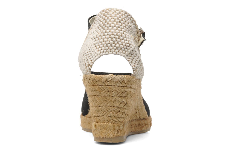 Sandales et nu-pieds Georgia Rose Ipona Noir vue droite