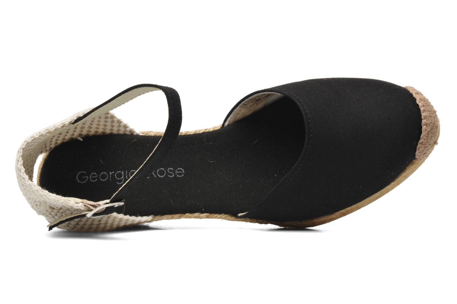 Sandals Georgia Rose Ipona Black view from the left