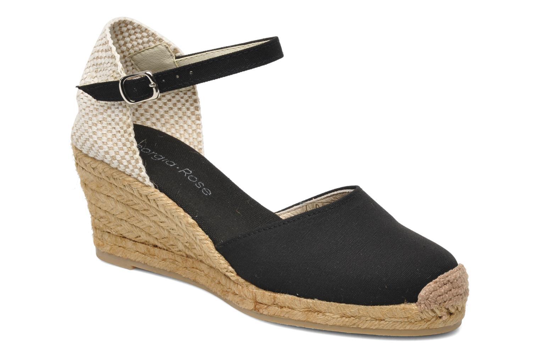 Sandales et nu-pieds Georgia Rose Ipona Noir vue détail/paire