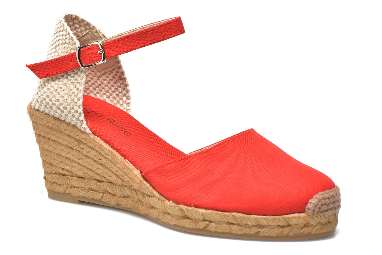 Sandales et nu-pieds Georgia Rose Ipona Rouge vue détail/paire