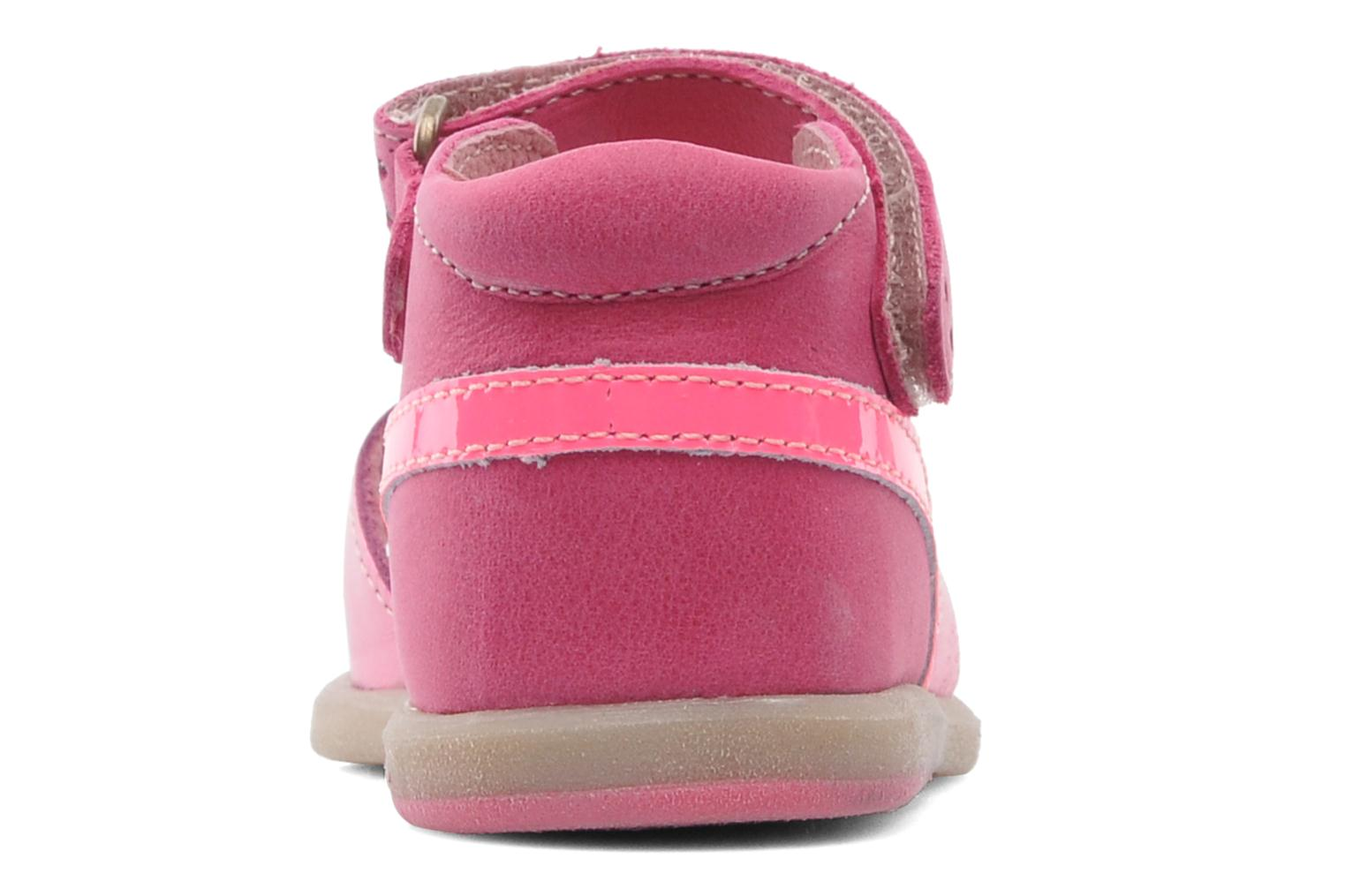 Sandals Babybotte TZARINE Pink view from the right