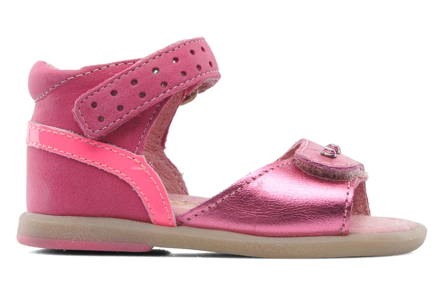 Sandals Babybotte TZARINE Pink back view