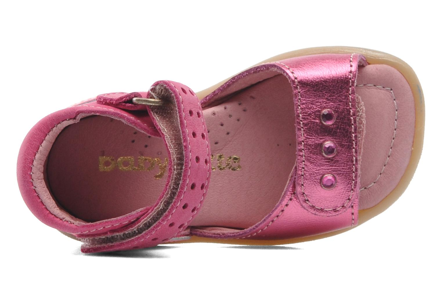 Sandals Babybotte TZARINE Pink view from the left