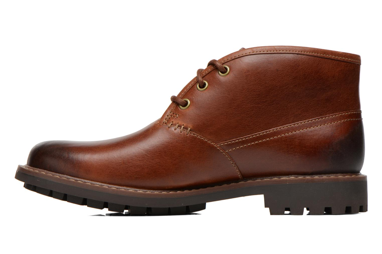 Zapatos con cordones Clarks Montacute Duke Marrón vista de frente
