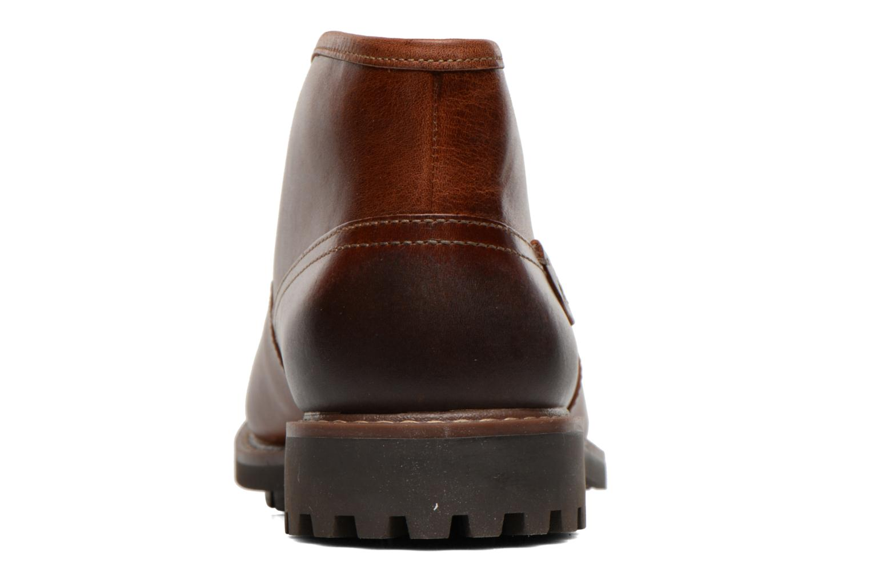 Zapatos con cordones Clarks Montacute Duke Marrón vista lateral derecha
