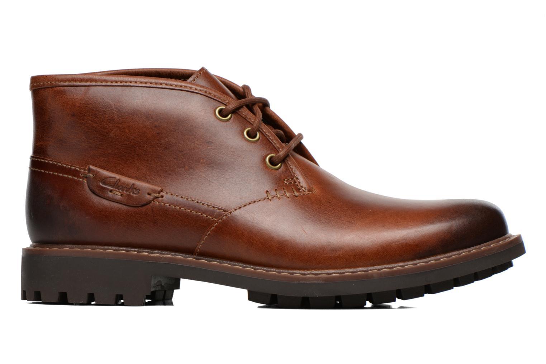 Chaussures à lacets Clarks Montacute Duke Marron vue derrière