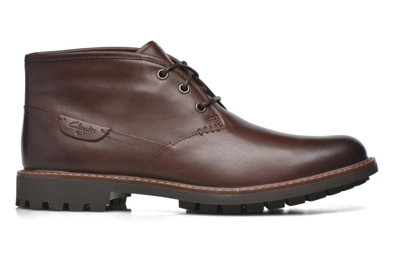 Snörade skor Clarks Montacute Duke Brun bild från baksidan