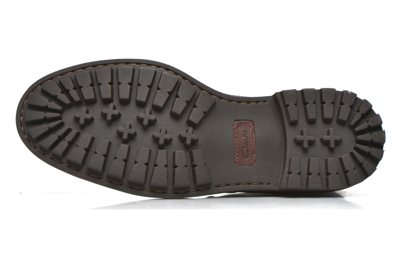 Zapatos con cordones Clarks Montacute Duke Marrón vista de arriba