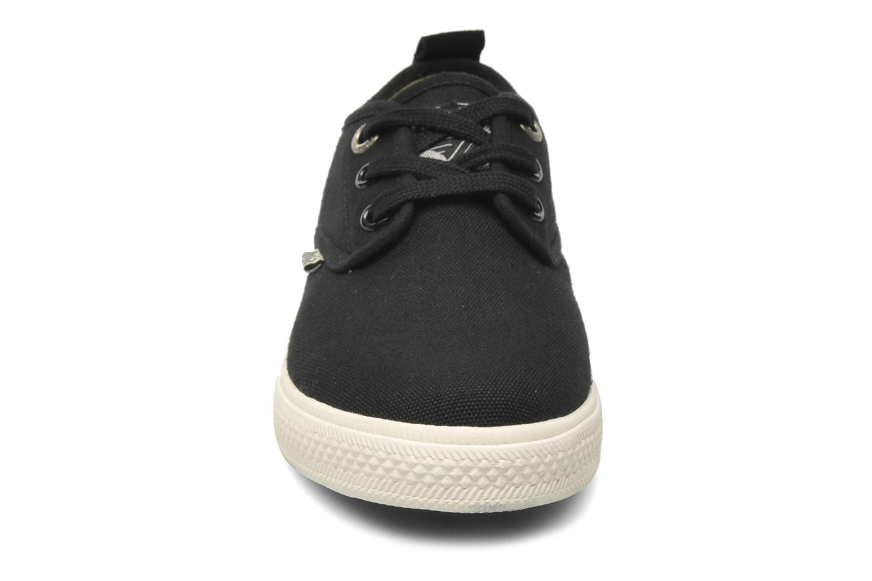 Sneaker Gola Falcon E schwarz schuhe getragen