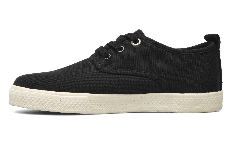 Sneakers Gola Falcon E Zwart voorkant