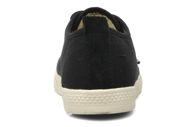 Sneaker Gola Falcon E schwarz ansicht von rechts