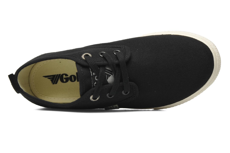 Sneaker Gola Falcon E schwarz ansicht von links
