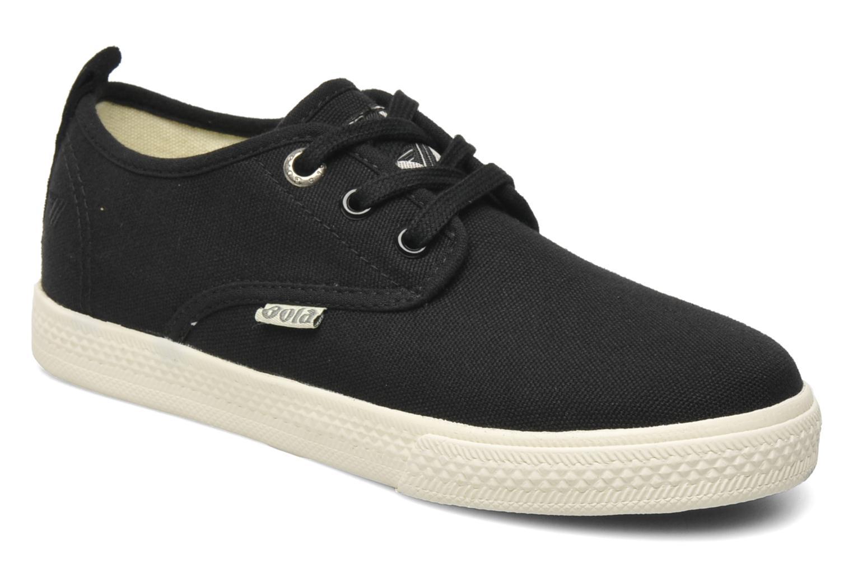 Sneakers Gola Falcon E Zwart detail