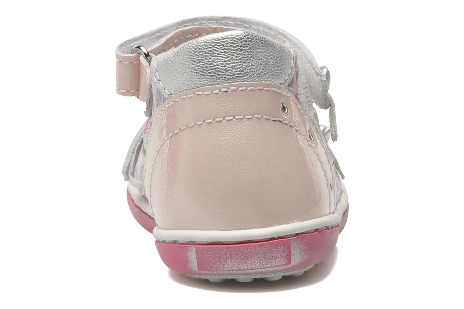 Ballerines Little Mary PRINCESSE Rose vue droite