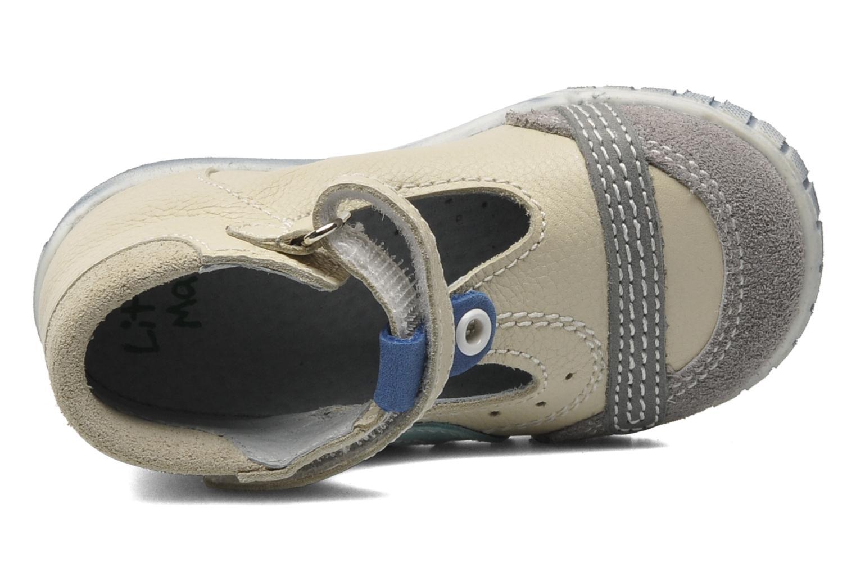 Sandales et nu-pieds Little Mary POLO Beige vue gauche