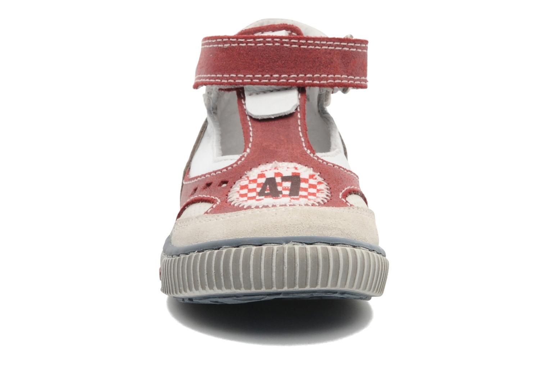 Zapatos con velcro Little Mary PLANEUR Rojo vista del modelo