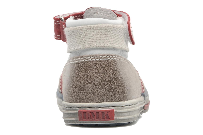 Zapatos con velcro Little Mary PLANEUR Rojo vista lateral derecha