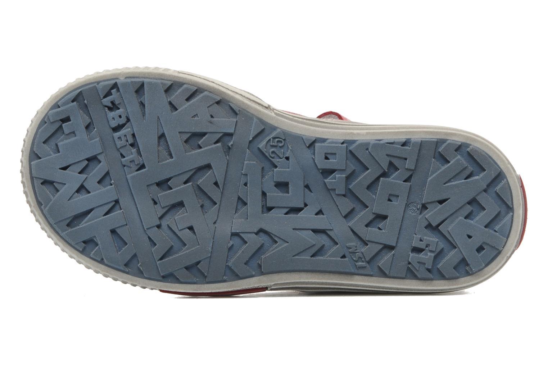 Zapatos con velcro Little Mary PLANEUR Rojo vista de arriba
