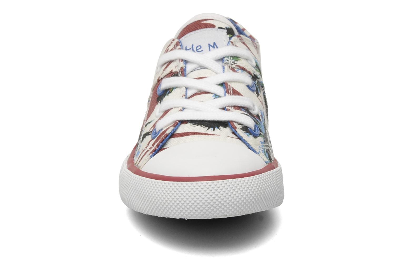 Baskets Little Mary LITTLE TENNIS Multicolore vue portées chaussures