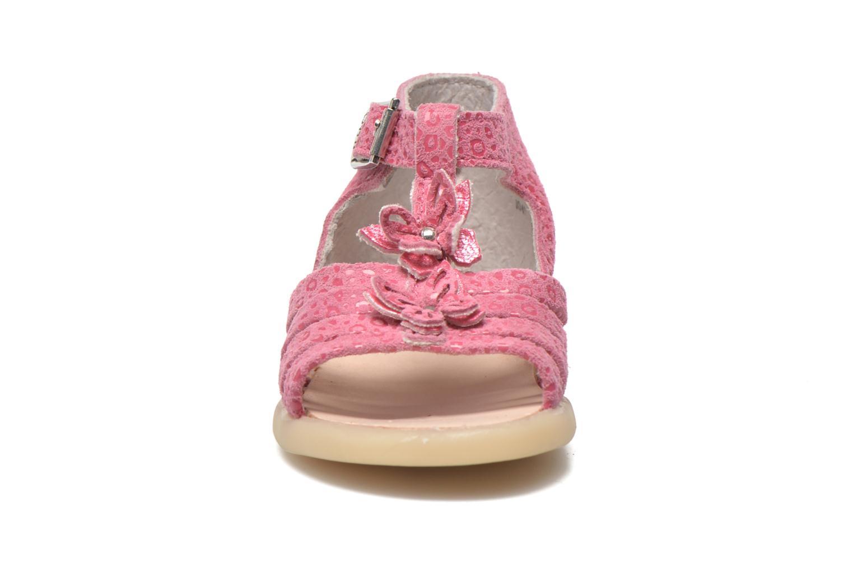 Sandalen Little Mary PASSION rosa schuhe getragen