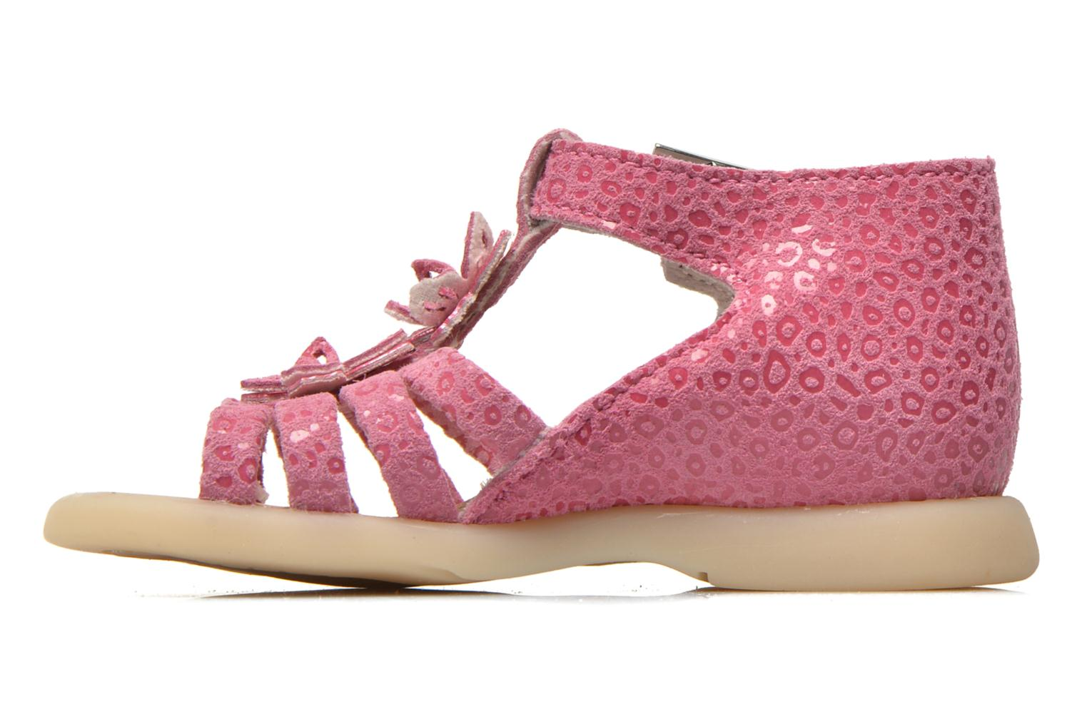 Sandals Little Mary PASSION Pink front view